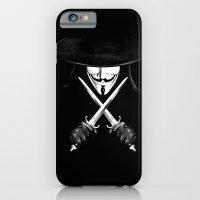 V for Vendetta (e7) iPhone 6 Slim Case