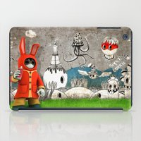 Super Bunny iPad Case