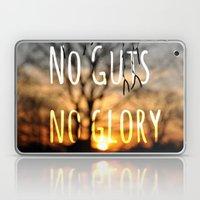 No Guts No Glory Laptop & iPad Skin