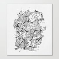 Art of Geometry 3 Canvas Print