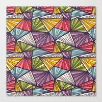 Geometric doodles Canvas Print