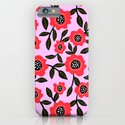 Red Poppy Fields iPhone & iPod Case