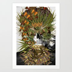 Toxicity 1 - Collage art by bedelgeuse Art Print