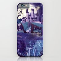 iPhone & iPod Case featuring Never a Quiet Year at Hogwarts by Anne Lambelet