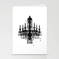 Chandelier Stationery Cards