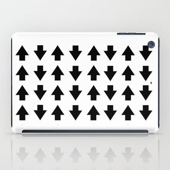 Arrows Black iPad Case
