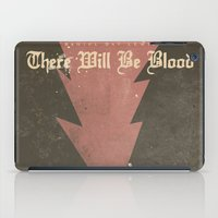There will be blood - Alternative Movie Poster iPad Case