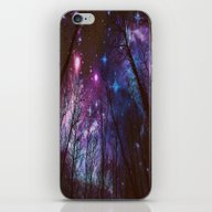 iPhone & iPod Skin featuring Black Trees Dark Space.  by 2sweet4words Designs