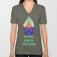 Zootopia - Anyone Can Be Anything [BLACK] Unisex V-Neck
