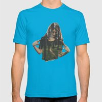 Became Mens Fitted Tee Teal SMALL