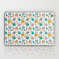 Pattern Project #14 / Bunny Faces Laptop & iPad Skin