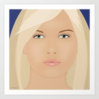 Just Another Pretty Face Art Print