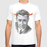 Cary Grant LSD Mens Fitted Tee White SMALL