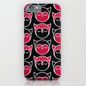 Owl Pattern iPhone & iPod Case