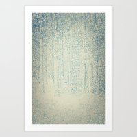 Sense of Snow Art Print