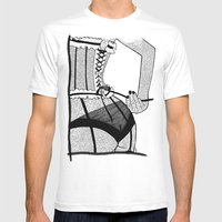 La femme n.7 Mens Fitted Tee White SMALL