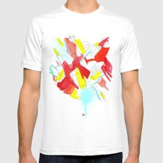Things Mens Fitted Tee White SMALL