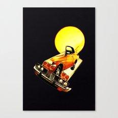serene car Canvas Print