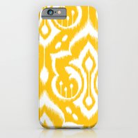 iPhone & iPod Case featuring Ikat Damask by Patty Sloniger