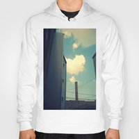 Chicago Clouds and Smokestack Hoody