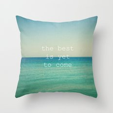 The Best (Waves) Throw Pillow