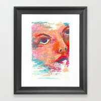 Color Swept Framed Art Print