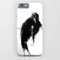 iPhone & iPod Case featuring Quoth the Raven by Alan Bao