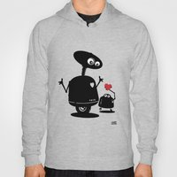 Robot Heart to Heart Hoody