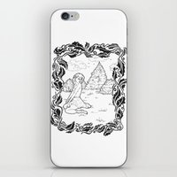 Pin Up 001 iPhone & iPod Skin