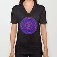 Harmony In Purple Unisex V-Neck