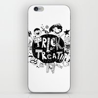 For Halloween - Trick Or… iPhone & iPod Skin