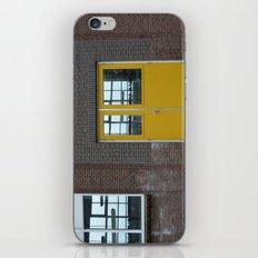 Yellow doors iPhone & iPod Skin