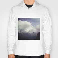 clouds over mountains Hoody