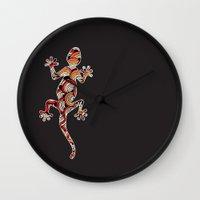 C13 GECKO 3 Wall Clock