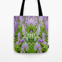 The Lavender Throne Tote Bag