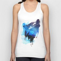 Alone As A Wolf Unisex Tank Top