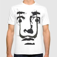 I am drugs ( Salvador Dali ) Mens Fitted Tee White SMALL