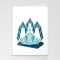 Waiting ( The Snow Queen… Stationery Cards
