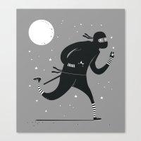 Star stealer Canvas Print