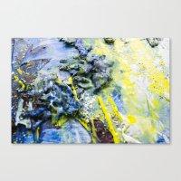 Wax & Soul Canvas Print