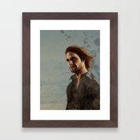 Sawyer Framed Art Print