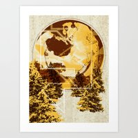 Thoughts Of A Pint Art Print