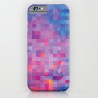 pixel iPhone & iPod Cases featuring Pixel by Marta Olga Klara