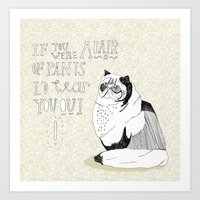 If You Were A Pair Of Pa… Art Print