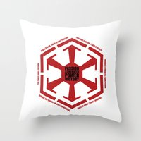 The Code Of The Sith Throw Pillow