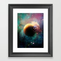 Stole a Timelord Framed Art Print