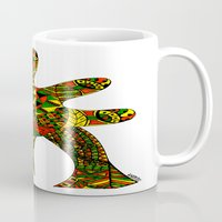 Finger Palm Tree Mug