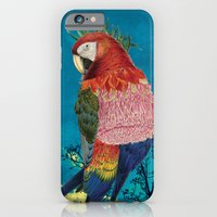 iPhone & iPod Case featuring Arara by Guilherme Lepca
