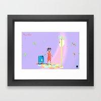 Angryocto - Sara's Candy2 Framed Art Print