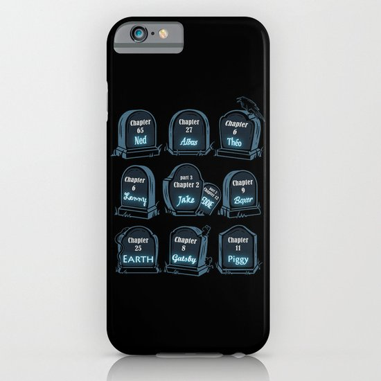 Spoiler Graveyard iPhone & iPod Case